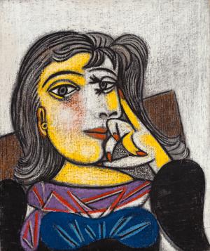 Pablo Picasso - Portrait de Dora Maar - Ground Effect