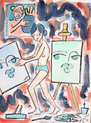 Etienne Quesnay - La Nuit d'une Peintre - Ground Effect