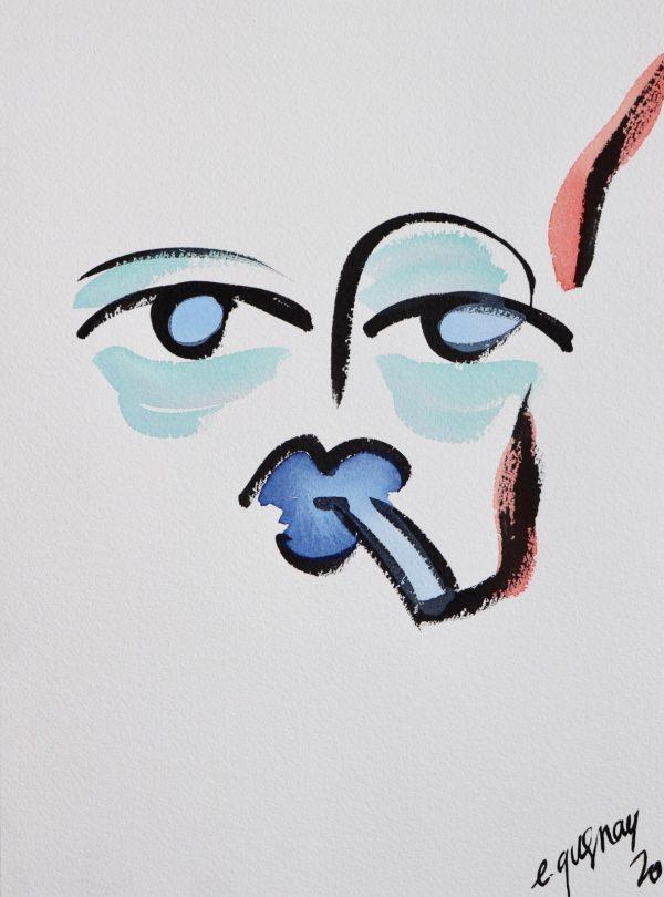 Etienne Quesnay - Fumeur Bleu - Ground Effect