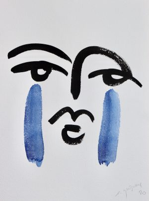 Etienne Quesnay - Deux Larmes Bleues - Ground Effect